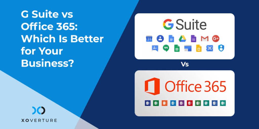 G Suite vs Office 365